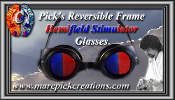 Pick's Deluxe Reversible Frame Hemifield Stimulator Glasses
